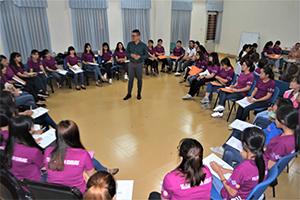 Chương trình kết nối doanh nghiệp với nữ sinh nhận học bổng Quỹ châu Á do ông bà Ludlow-Teillon tài trợ