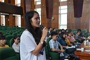 Chương trình kết nối doanh nghiệp với nữ sinh, học bổng Quỹ Châu Á nguồn Merali Foundation
